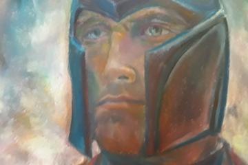 Michael Fassbender fanart - pastel